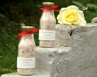Passion flower bath salt