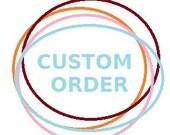 Custom bag for Claudia