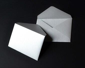 Silver Envelopes - Metallic Envelopes - Gold Envelopes - Metallic Silver Envelopes - Metallic Gold Envelopes - Metallic Gift Card Envelopes