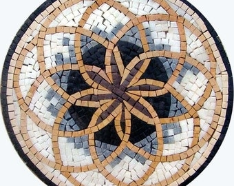 Mosaic Wall Accent - Flower of Life