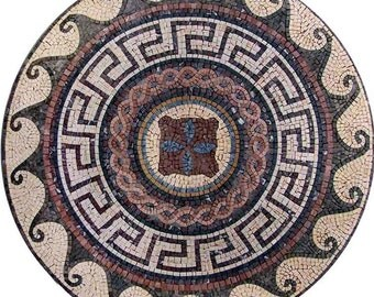 Multi-Motif Roman Mosaic - Augusta