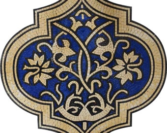 Floral Ogee Marble Mosaic - Cade