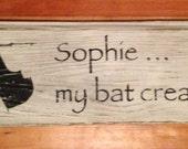Sophie the Bat Creature