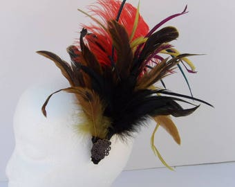 Fascinator Multi-Colored