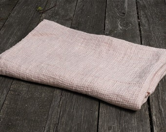 Pink Bath Towel Linen towel Bathroom towels