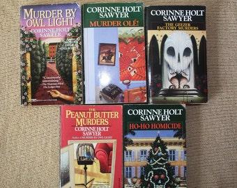 5 Corinne Holt Sawyer books / Corinne Holt Sawyer novels