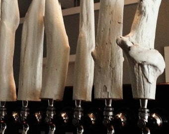 Driftwood Beer Tap Handle
