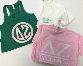 Delta Zeta Shirt Bundel