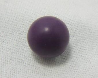 Sugilite Sphere, 14 mm, Sugilite Gemstone, Purple Sugilite, Love, Protection, Healing, Growth, Vintage, Estate, Carved Gemstone, 3 Grams #75