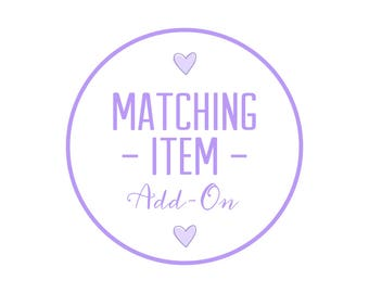 Custom Matching Item