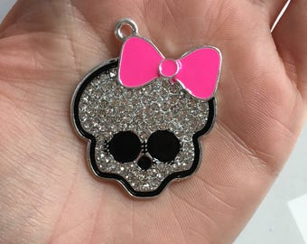 P74 Monster High Pendant for Chunky Necklaces