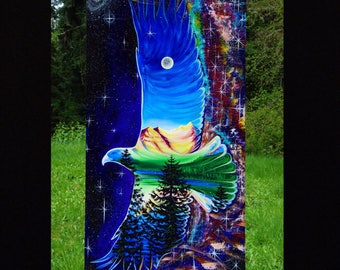 Cosmic Eagle - Original - 10% to cascade raptor center