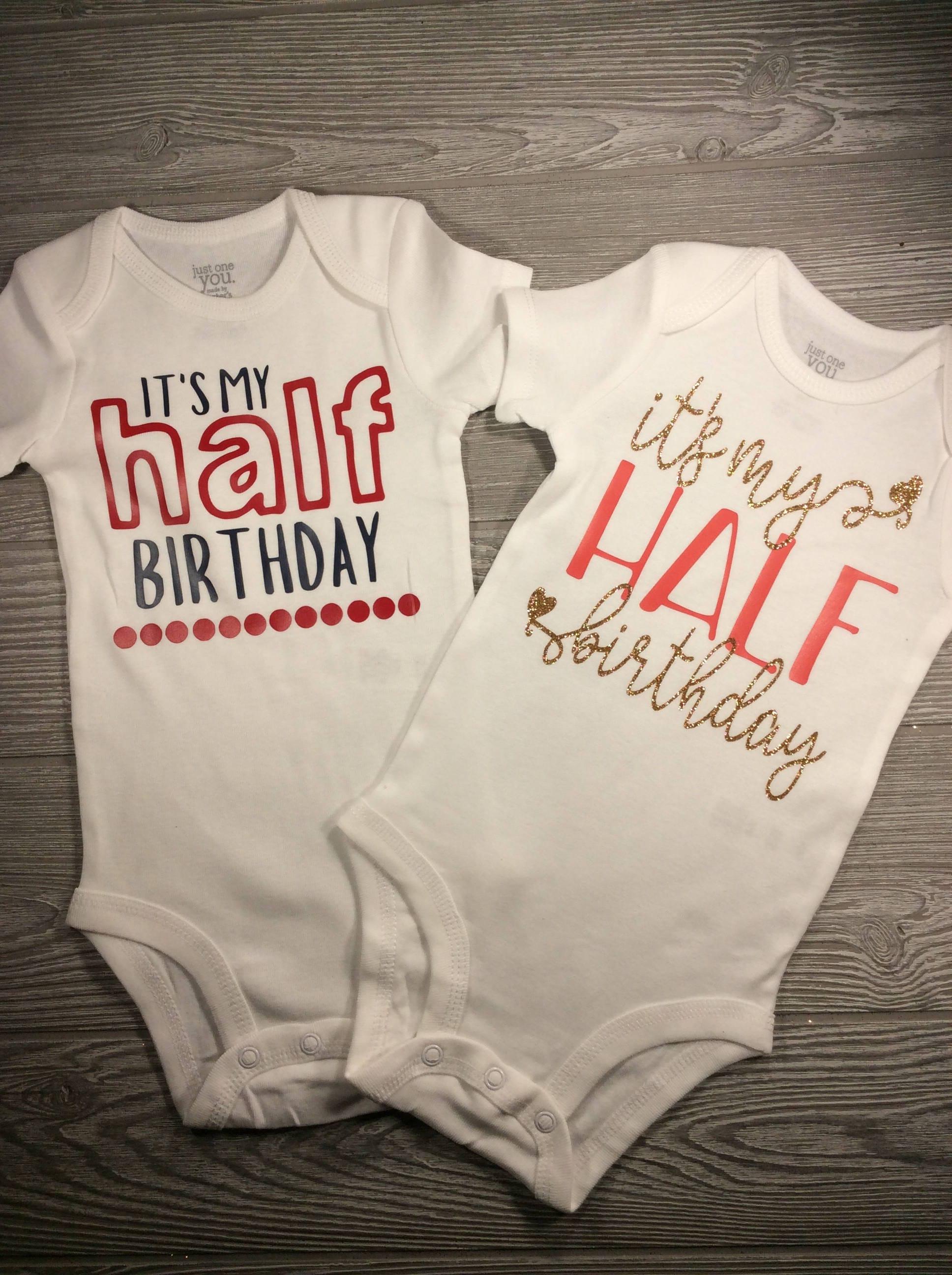 Half Birthday Outfit Half Birthday For Girl Half Birthday For Boy