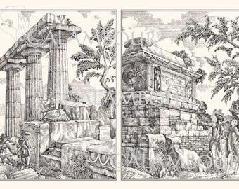 Decoupage Paper PRINT-ROOM. Italian Paper #PR021