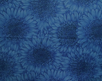 Petal Power Fabric - Designed in London England for Moda - Quilters Cotton - 1 Yard Only