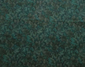 Green Leaves Fabric - Windsor Collection by Hoffman International Fabrics - Quilters Cotton - See Options