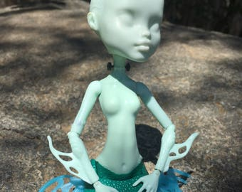 Blank Monster High doll for OOAK customization