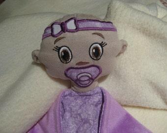 Blankie, Personalised Baby Girl Security Blanket, Lovey, Blankie, Baby Shower Gift,