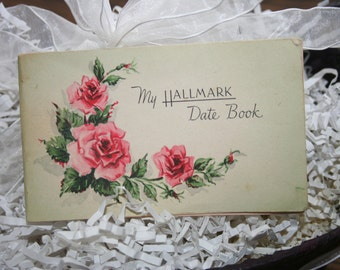 My Hallmark Date Book / 1948 Paper Ephemera / Advertising Date Book