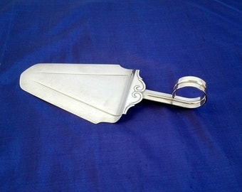 Vintage Cake Server, GERO 851, Georg Nilsson, Silver-Plate, Made in Holland, Zeist