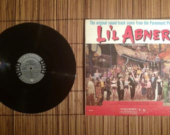 Li'l Abner (The original sound-track score from the Paramount Pictures) vinyl