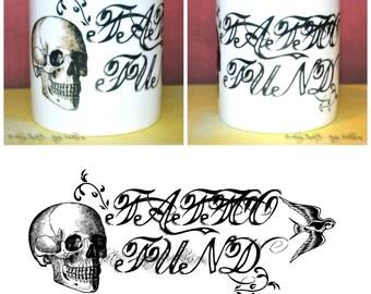 The Tattoo Fund money box - designer money jar