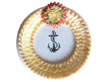 Seashell Frame Handmade