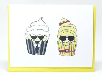Karl and Anne Cupcakes Card