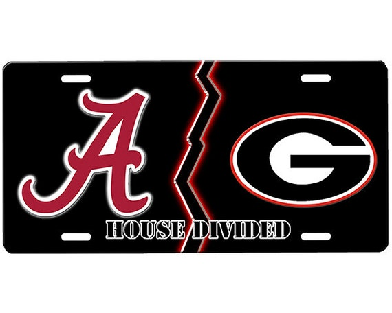 House Divided License Plate
