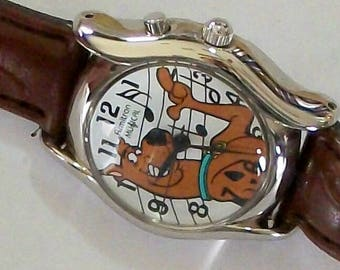 Armitron Scooby Doo Watch! New! Musical! Plays Scooby Dooby Doo Where are You song!