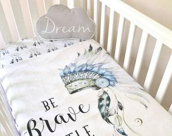 Brave Crib Bedding Etsy