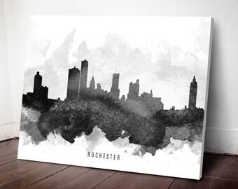 Rochester Skyline Etsy