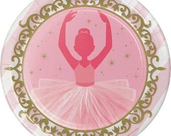 My Sweet Ballerina Dinner Plates / Ballet theme party / Twinkle Toe / Ballerina / Little Dancer /