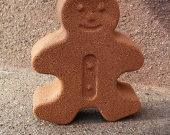 Gingerbread Bath Bomb / Giant Bath Bombs / Mr. Gingerbread Bath Bomb / Custom Bath Bombs / Scented Bath Bombs / Christmas Bath Fizzies