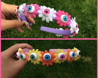 Floral Eyeball Headband