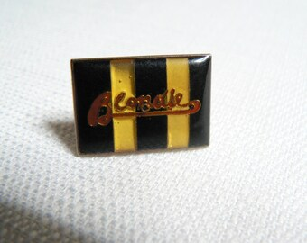 Vintage Late 70s Blondie - Parallel Lines Album (1978) Enamel Pin / Button / Badge