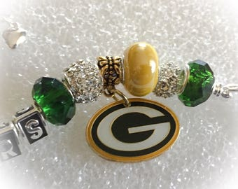 GREEN BAY PACKERS inspired Jewelry