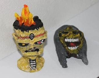 Iron Maiden heads