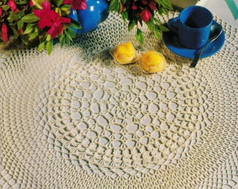 Doily crochet pattern PDF digital download