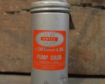 Vintage huffy pump oiler, eagle oil pump