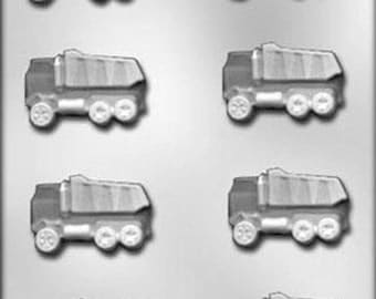 Dump Truck Chocolate Candy Mold Construction Contractor Building Heavy Equipment Operator Soap