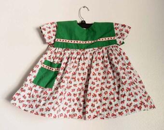 Strawberry Baby Dress