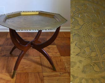 Beautiful Vintage Moroccan Side / Coffee Table