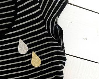 PIN glitter   La Pluie
