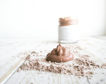 Pink Clay Face Mask, Pink Clay Mask, Clay Mask, Sensitive Skin Mask, Rejuvenating Mask, Cleansing Mask, Organic Face Mask, Organic Skin Care