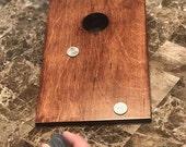 Custom Wood Stained Mini Cornhole Boards - MoneyShot Miniature Cornhole Blank