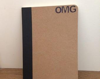 Pocket-sized notebook - OMG