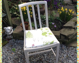 Spring chair | vintage chair | up-cycled chair