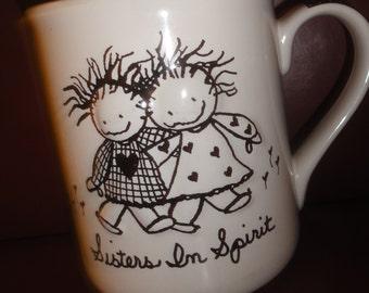 """Mug """" My Sister Spirit """" Mug"""