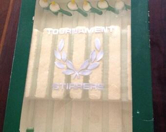 Vintage Tennis Racquet Swizzle Sticks